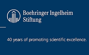 Logo of the Boehringer Ingelheim Stiftung's 40th Anniversary