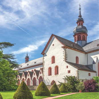 Photo of Kloster Eberbach monastry, the site of the IMB 2017 Conference Excursion